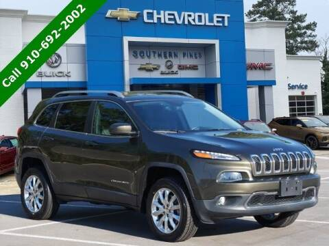 2015 Jeep Cherokee for sale at PHIL SMITH AUTOMOTIVE GROUP - SOUTHERN PINES GM in Southern Pines NC