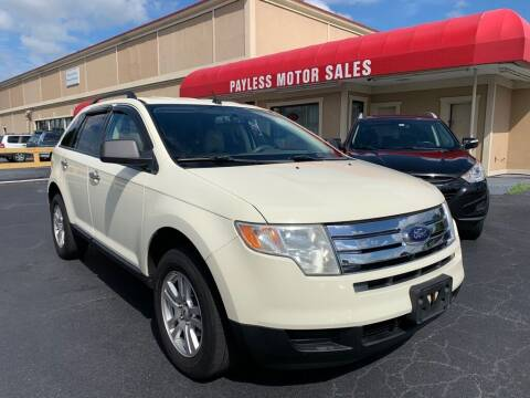 2007 Ford Edge for sale at Payless Motor Sales LLC in Burlington NC