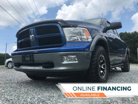 2010 Dodge Ram Pickup 1500 for sale at Prime One Inc in Walkertown NC