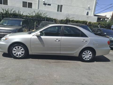 2005 Toyota Camry for sale at Western Motors Inc in Los Angeles CA