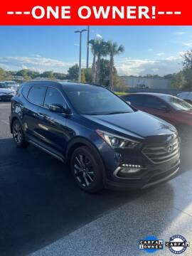 2017 Hyundai Santa Fe Sport for sale at PHIL SMITH AUTOMOTIVE GROUP - Toyota Kia of Vero Beach in Vero Beach FL