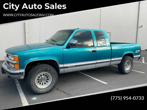 1994 Chevrolet C/K 1500 Series for sale at City Auto Sales in Sparks NV