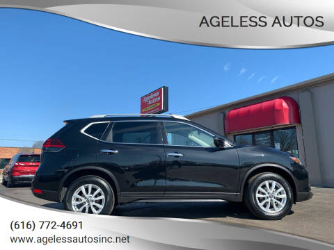 2019 Nissan Rogue for sale at Ageless Autos in Zeeland MI