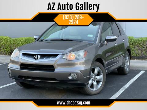 2007 Acura RDX for sale at AZ Auto Gallery in Mesa AZ