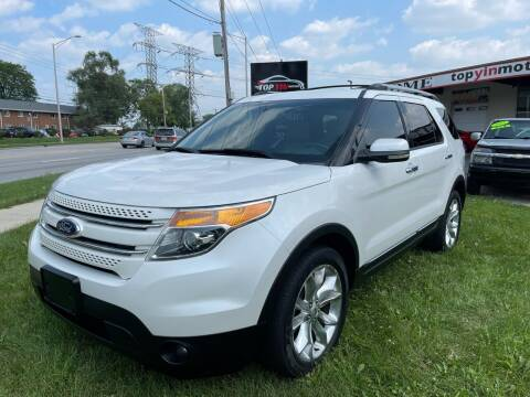 2013 Ford Explorer for sale at TOP YIN MOTORS in Mount Prospect IL