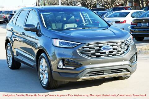 2020 Ford Edge for sale at Silver Star Motorcars in Dallas TX