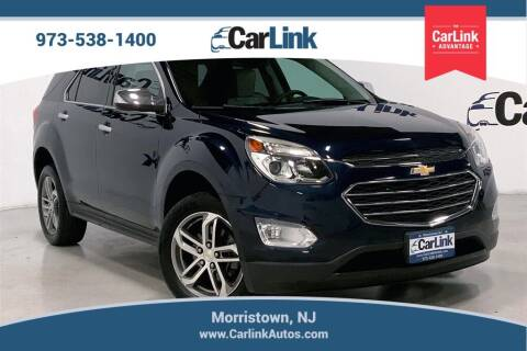 2016 Chevrolet Equinox for sale at CarLink in Morristown NJ
