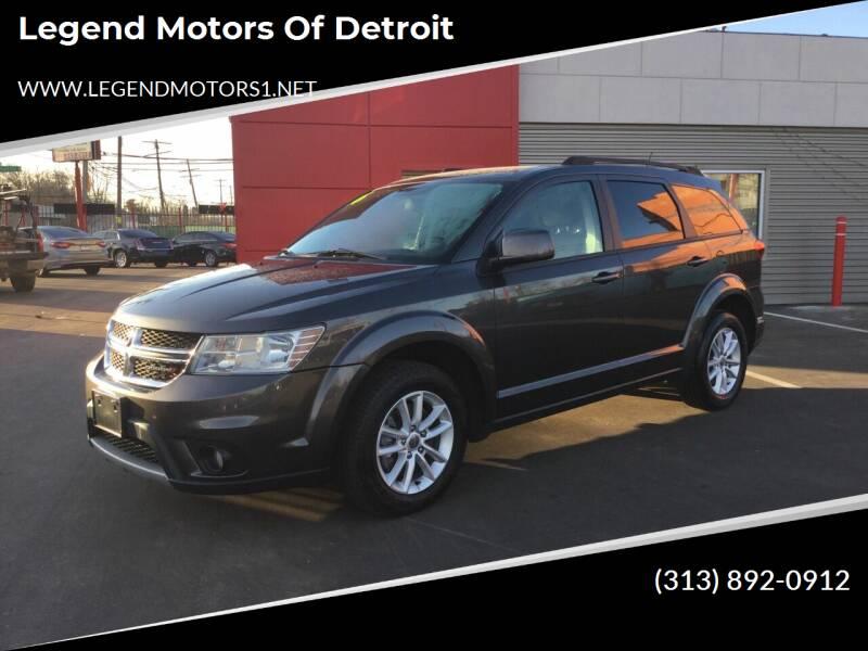 2016 Dodge Journey for sale at Legend Motors of Detroit in Detroit MI