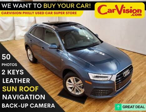 2018 Audi Q3 for sale at Car Vision Mitsubishi Norristown - Car Vision Philly Used Car SuperStore in Philadelphia PA