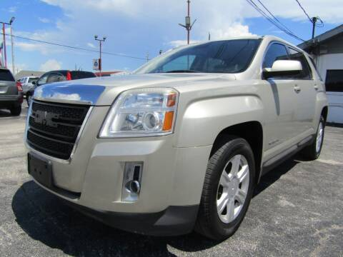 2015 GMC Terrain for sale at AJA AUTO SALES INC in South Houston TX