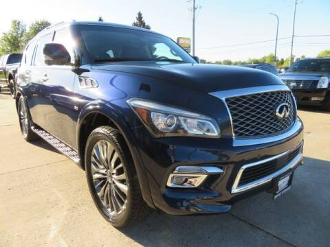 2015 Infiniti QX80 for sale at Import Exchange in Mokena IL