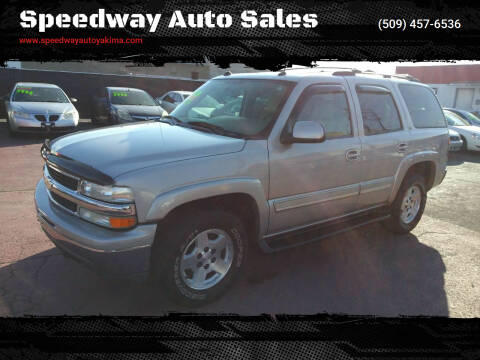 2004 Chevrolet Tahoe for sale at Speedway Auto Sales in Yakima WA