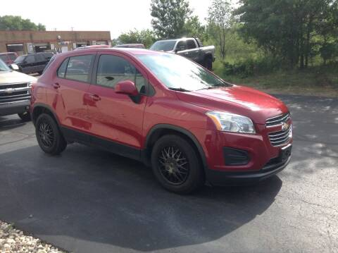 2015 Chevrolet Trax for sale at Bruns & Sons Auto in Plover WI
