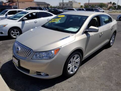 2011 Buick LaCrosse for sale at Vin - Mar Auto in Victorville CA