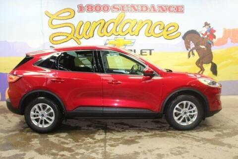 2020 Ford Escape for sale at Sundance Chevrolet in Grand Ledge MI