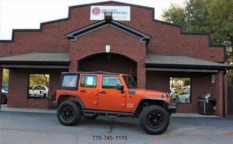 2011 Jeep Wrangler Unlimited for sale at Atlanta Auto Brokers in Cartersville GA