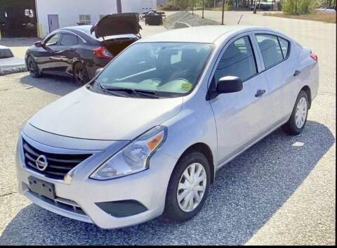 2015 Nissan Versa for sale at Downeast Auto Inc in South Waterboro ME
