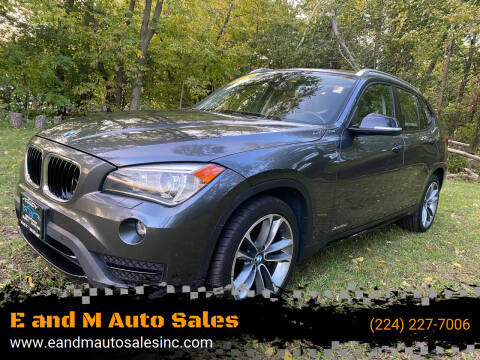 2014 BMW X1 for sale at E and M Auto Sales in Elgin IL