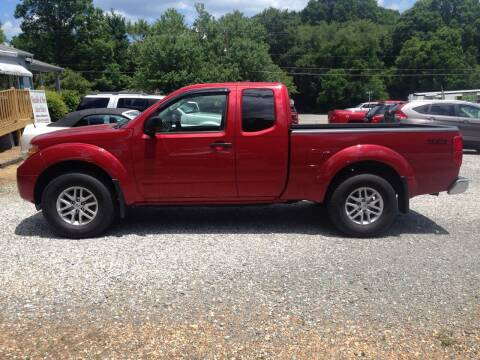 2017 Nissan Frontier for sale at Venable & Son Auto Sales in Walnut Cove NC