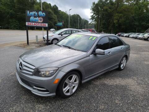 2011 Mercedes-Benz C-Class for sale at Let's Go Auto in Florence SC