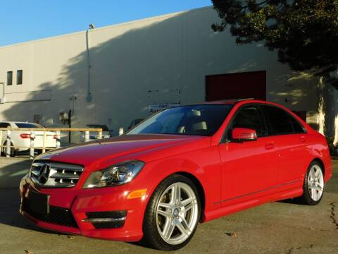 2013 Mercedes-Benz C-Class for sale at Conti Auto Sales Inc in Burlingame CA