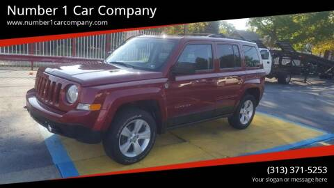 2016 Jeep Patriot for sale at NUMBER 1 CAR COMPANY in Detroit MI