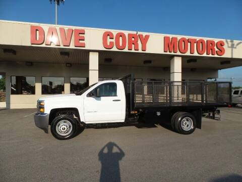 2016 Chevrolet Silverado 3500HD CC for sale at DAVE CORY MOTORS in Houston TX