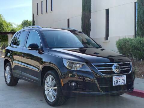 2009 Volkswagen Tiguan for sale at Auto King in Roseville CA