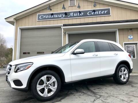2018 Mercedes-Benz GLC for sale at CROSSWAY AUTO CENTER in East Barre VT