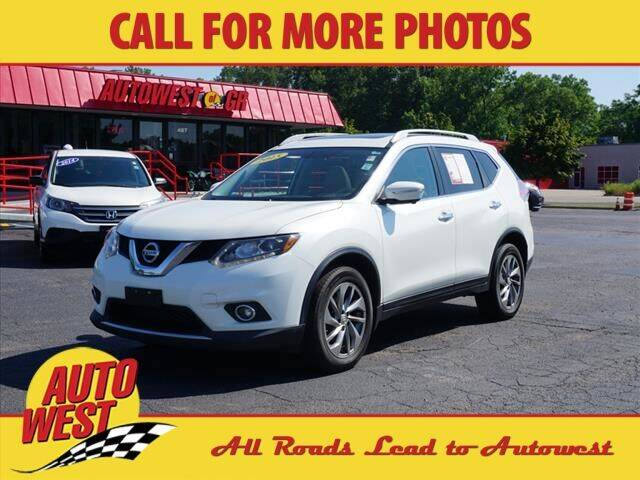 2015 Nissan Rogue for sale at Autowest of GR in Grand Rapids MI