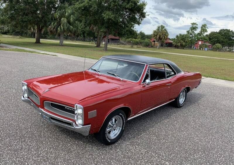 1966 Pontiac Le Mans for sale at P J'S AUTO WORLD-CLASSICS in Clearwater FL