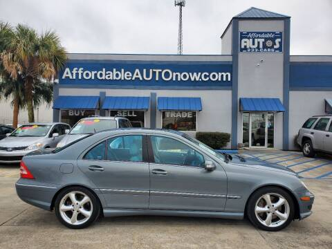 2006 Mercedes-Benz C-Class for sale at Affordable Autos in Houma LA