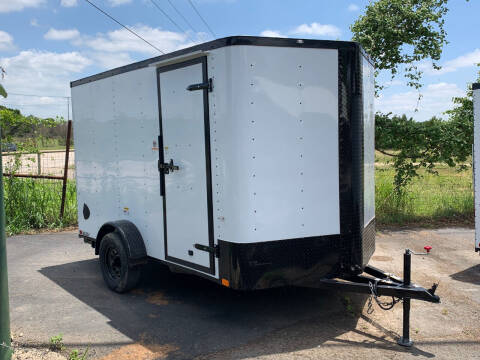 2021 CARGO CRAFT 7X12 SINGLE AXLE RAMP for sale at Trophy Trailers in New Braunfels TX