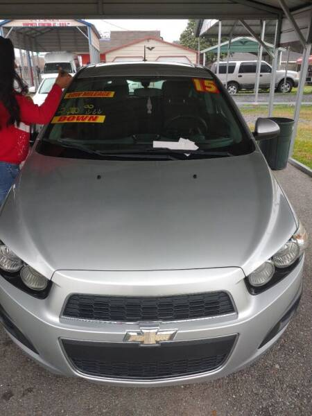 2015 Chevrolet Sonic for sale at Finish Line Auto LLC in Luling LA