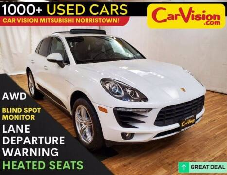 2018 Porsche Macan for sale at Car Vision Buying Center in Norristown PA