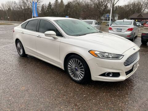 2013 Ford Fusion for sale at Sunrise Auto Sales in Stacy MN