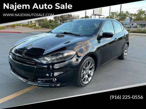 2015 Dodge Dart for sale at Najem Auto Sale in Sacramento CA