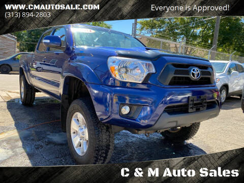 2014 Toyota Tacoma for sale at C & M Auto Sales in Detroit MI