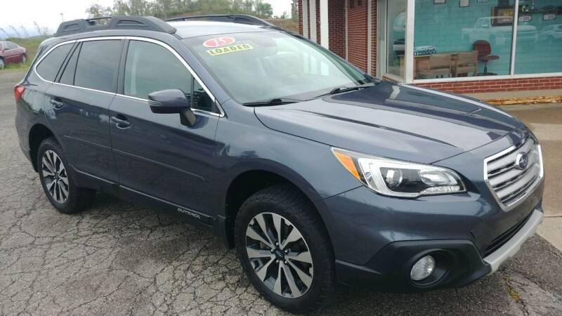 2015 Subaru Outback for sale at AutoBoss PRE-OWNED SALES in Saint Clairsville OH