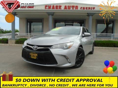 2016 Toyota Camry for sale at Chase Auto Credit in Oklahoma City OK