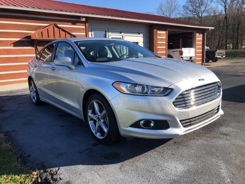 2014 Ford Fusion for sale at KNK AUTOMOTIVE in Erwin TN