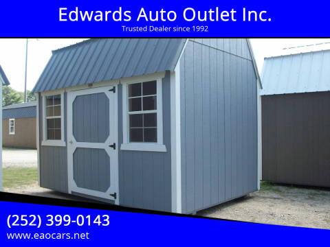 2020 xx Old Hickory Buildings 8x12 Lofted Barn REPO for sale at Edwards Auto Outlet Inc. in Wilson NC