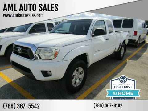 2014 Toyota Tacoma for sale at AML AUTO SALES - Pick-up Trucks in Opa-Locka FL