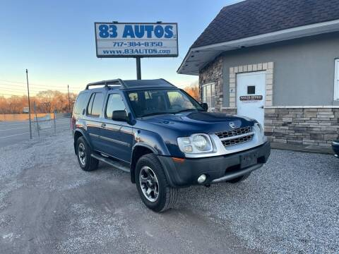 2004 Nissan Xterra for sale at 83 Autos in York PA