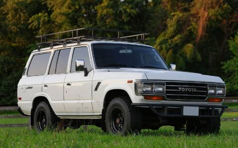 1989 Toyota Land Cruiser for sale at GEARHEADS in Vienna VA