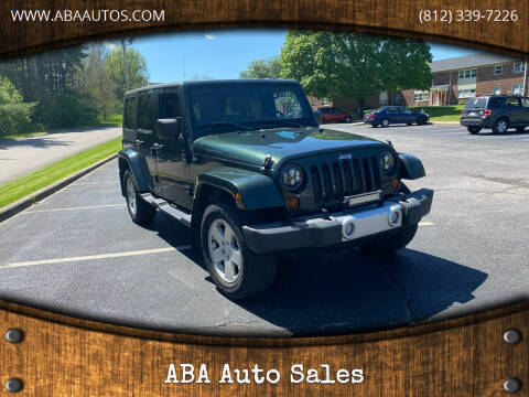 2010 Jeep Wrangler Unlimited for sale at ABA Auto Sales in Bloomington IN