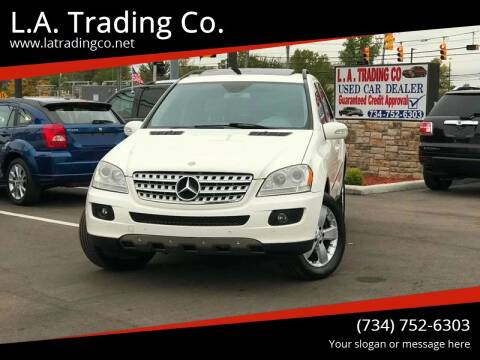 2006 Mercedes-Benz M-Class for sale at L.A. Trading Co. Woodhaven in Woodhaven MI