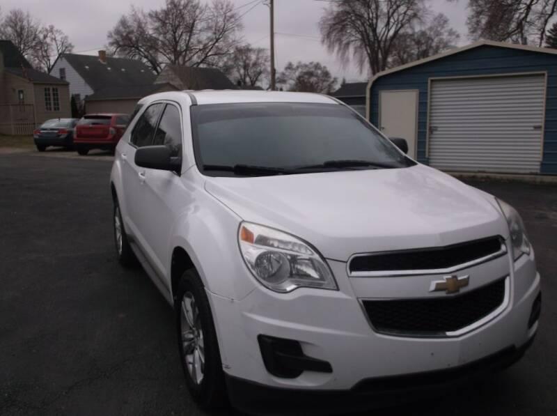 2015 Chevrolet Equinox for sale at Straight Line Motors LLC in Fort Wayne IN