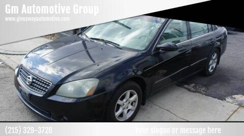 2005 Nissan Altima for sale at GM Automotive Group in Philadelphia PA