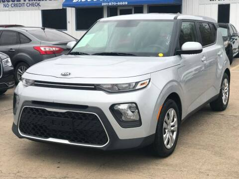 2020 Kia Soul for sale at Discount Auto Company in Houston TX